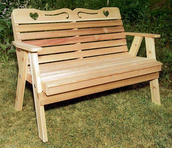 Скамейки из дерева своими руками цены 19