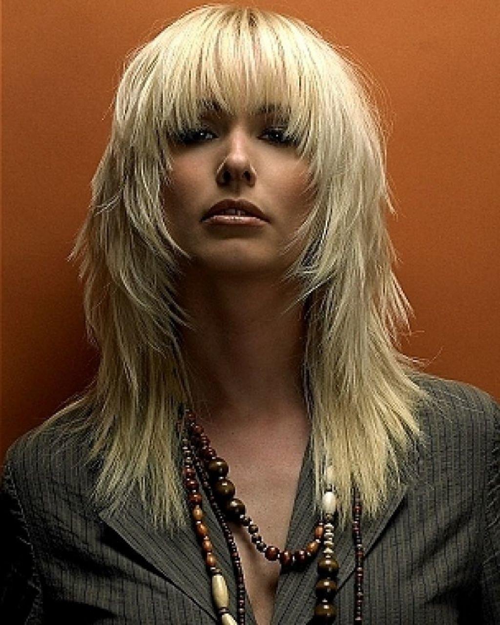 Причёски на каскад с чёлкой на средние волосы фото