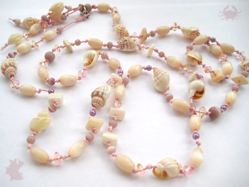 Ожерелье своими руками из ракушек 786