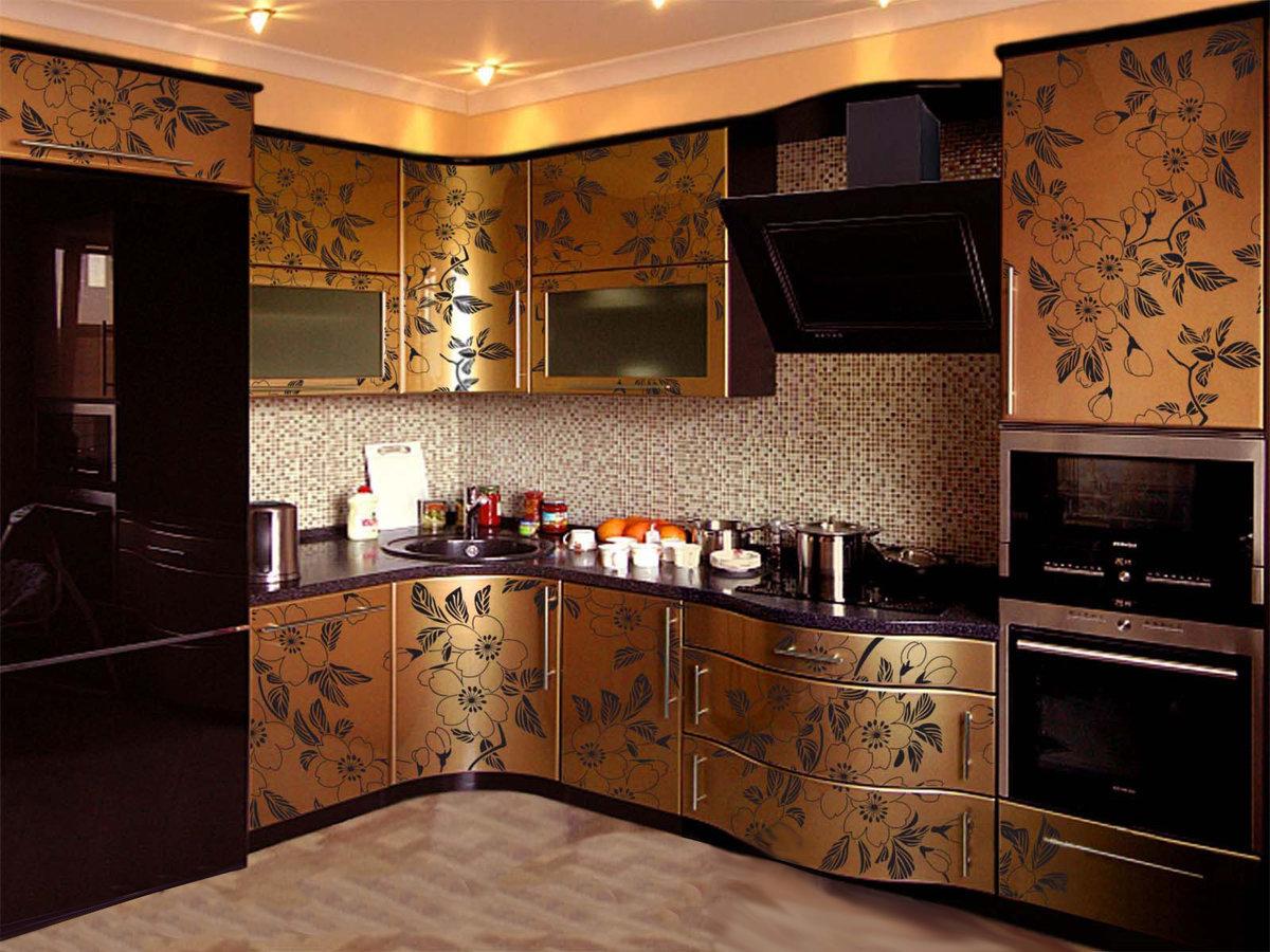 Золотая кухня своими руками