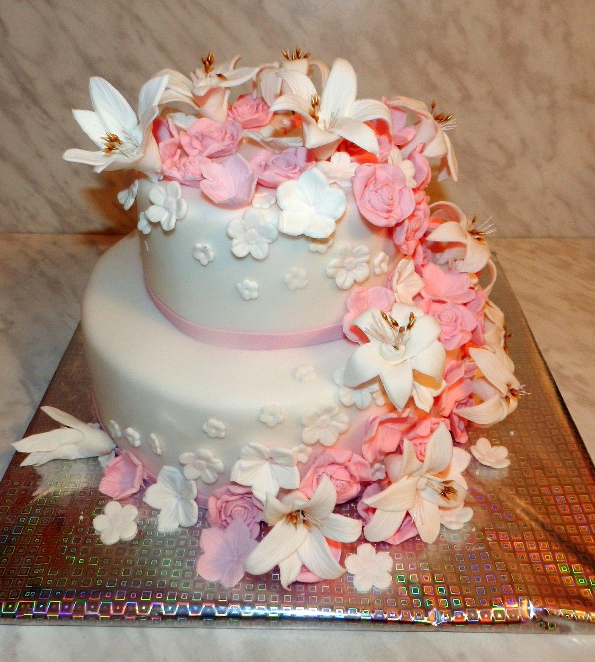 Как сделать оригинальный торт на свадьбу