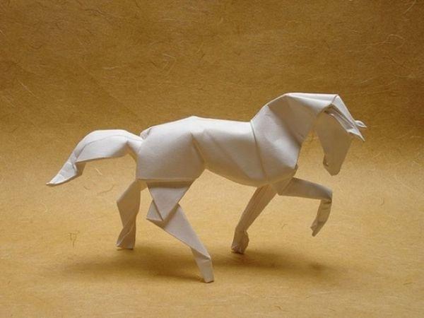 Как сделать лошадь из бумаги своими 50
