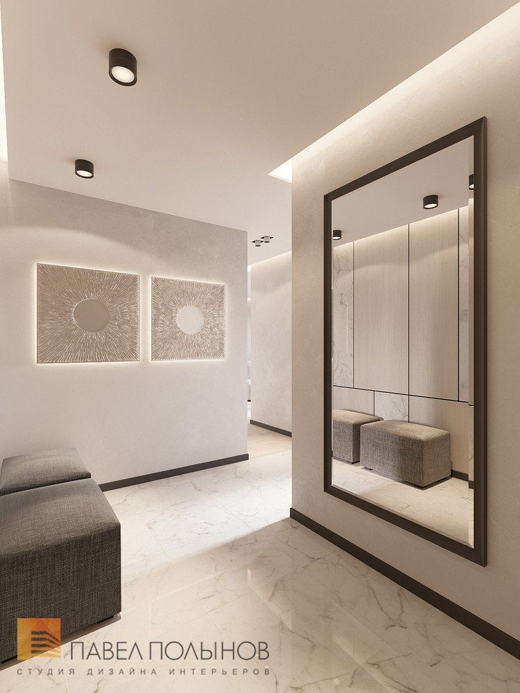 Дизайн трехкомнатной квартиры 100 кв м