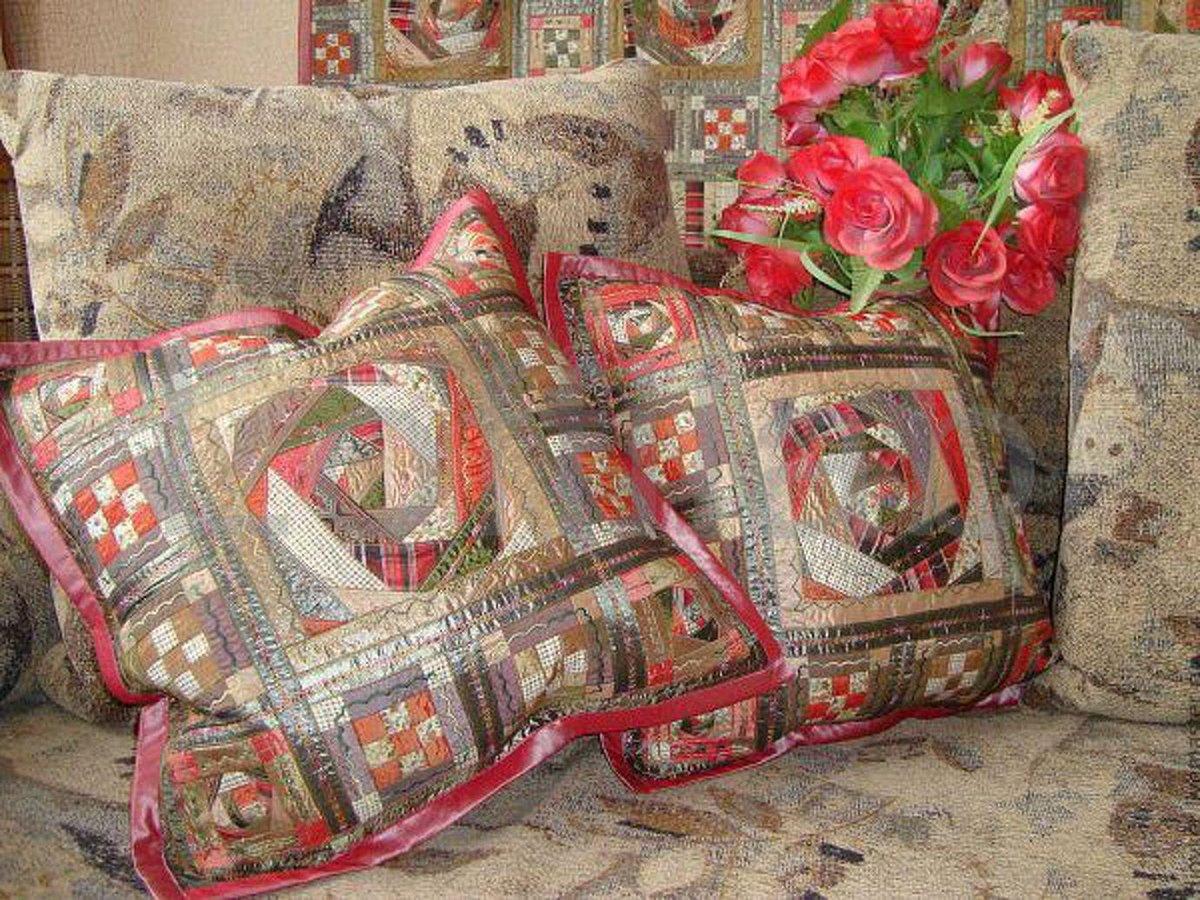 Наволочка для диванной подушки своими руками 22