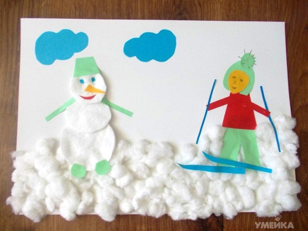 Поделки с детьми по теме зима