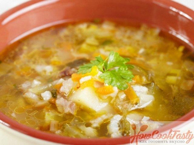 Как готовить рассольник с рисом рецепт с фото пошагово