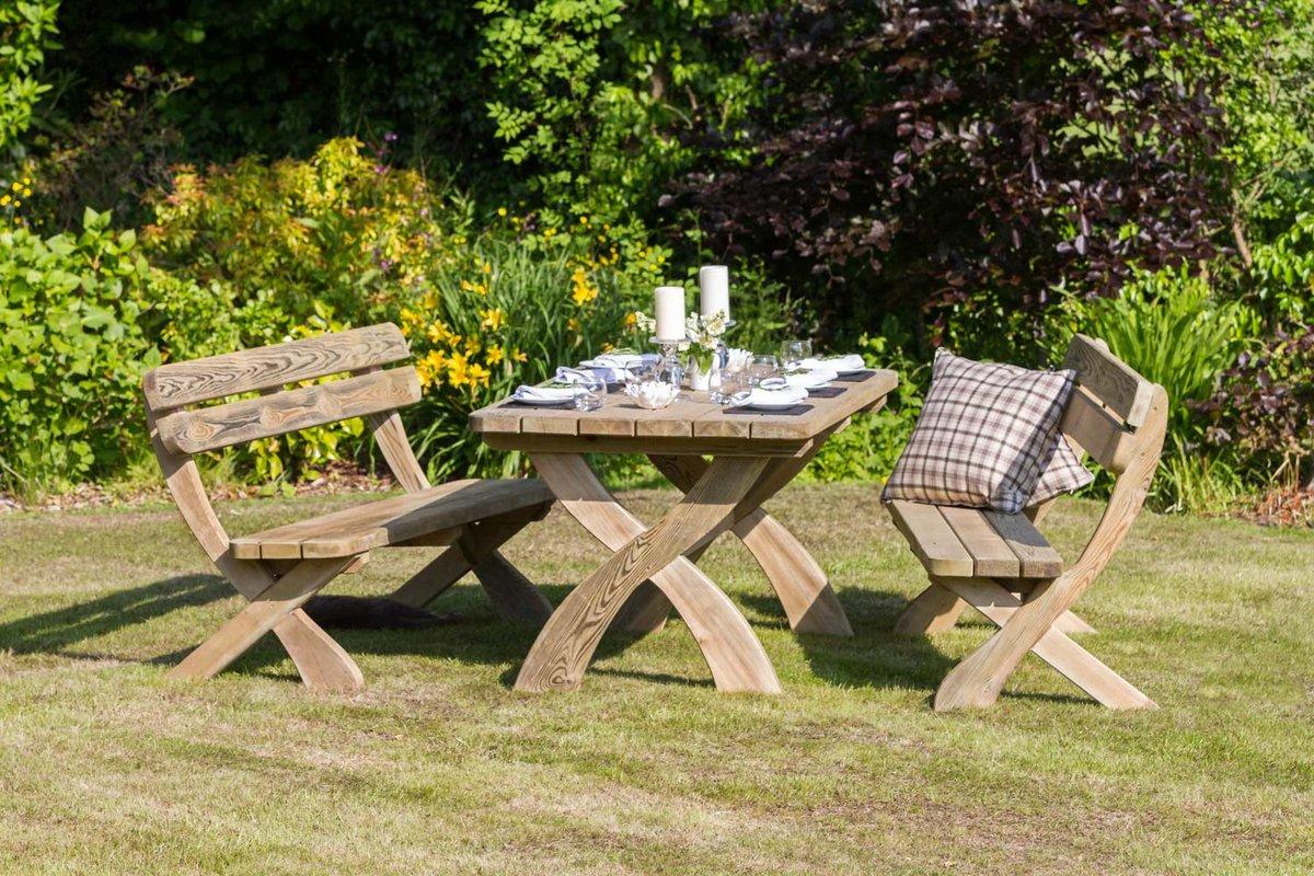 Садовый стол для дачи своими руками - способы 43