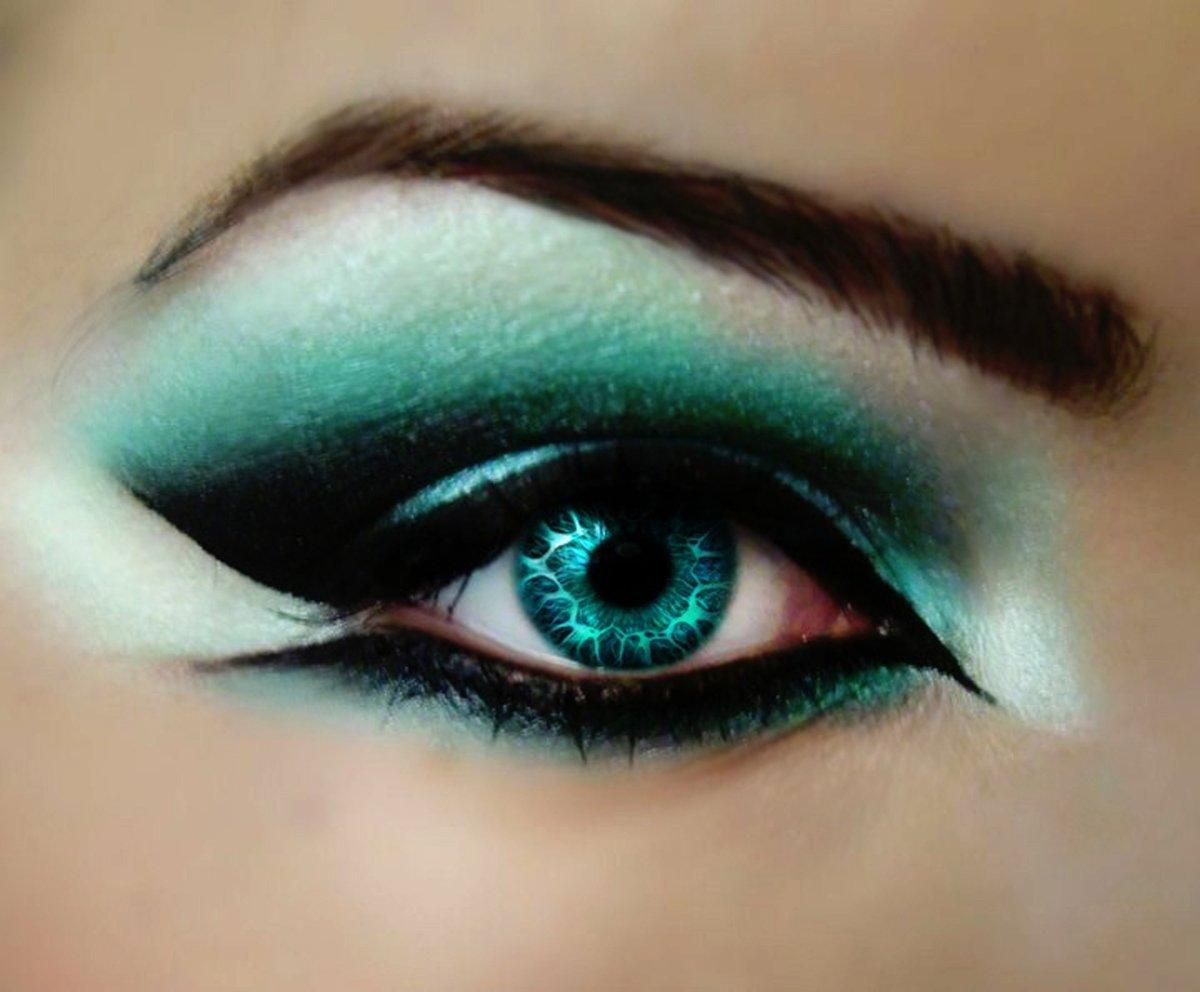 Фото для макияжа для голубых глаз фото