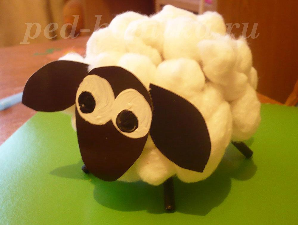 Сделать овечку своим руками 674