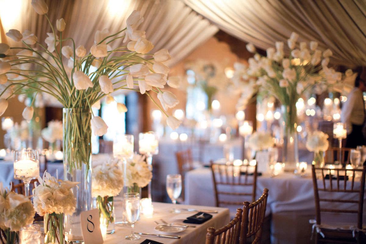 Декор свадьбы живыми цветами, флористика на свадьбе - Pinterest 52