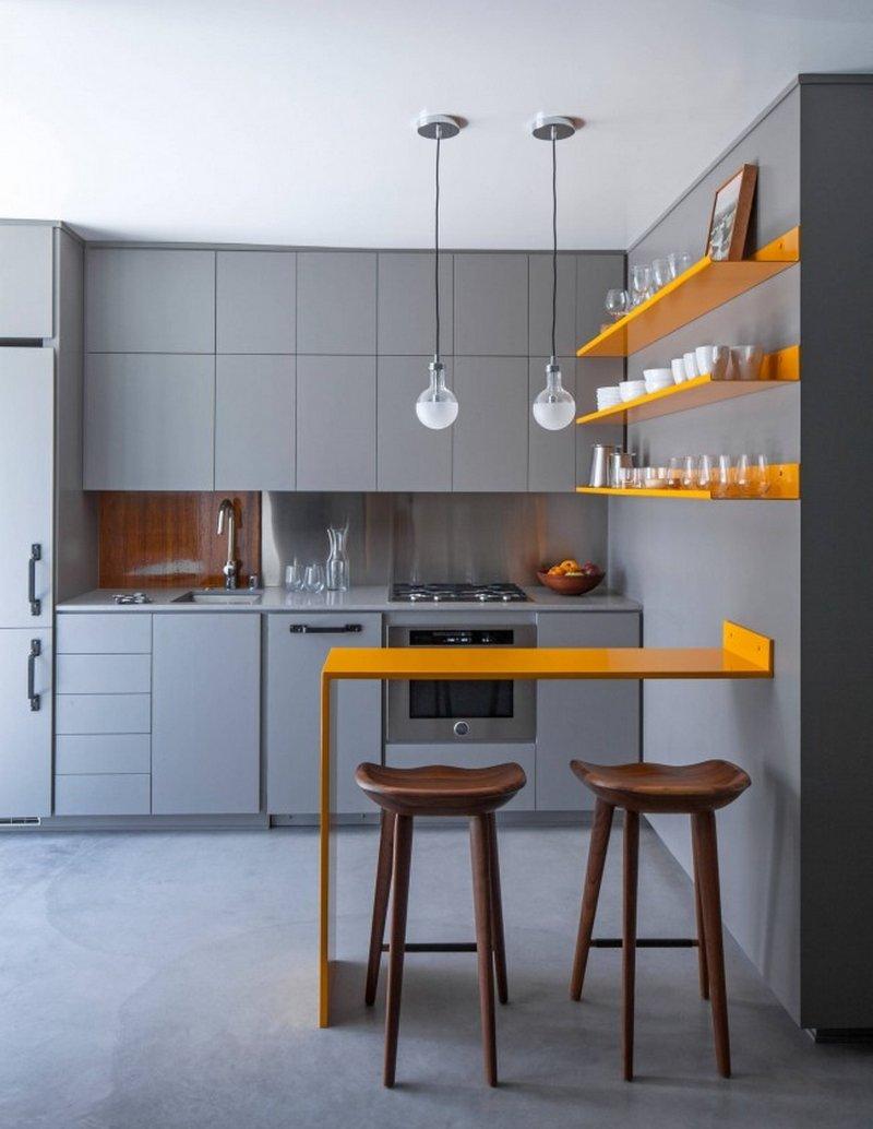 Идеи для барной стойки на кухне фото