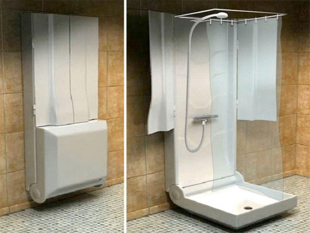 Как из туалета сделать душевую кабину 974