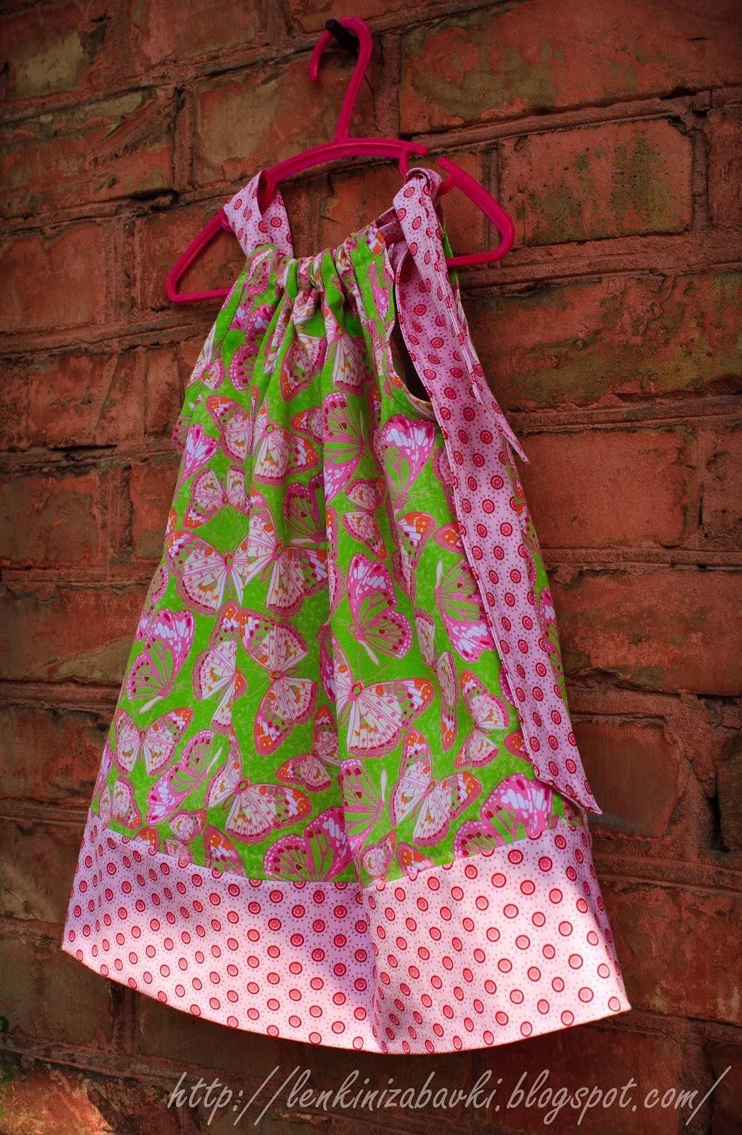Как сшить сарафан или юбку для девочки 526