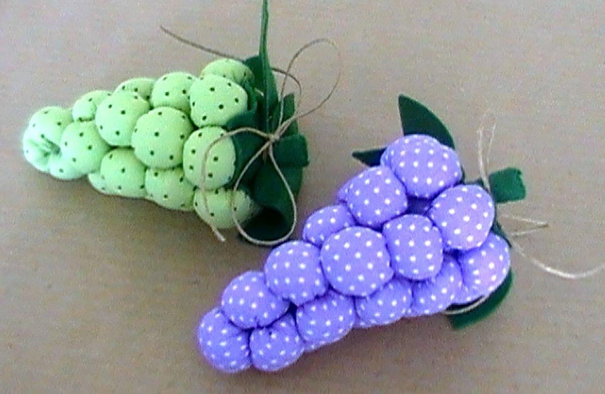 Мягкие игрушки фрукты своими руками