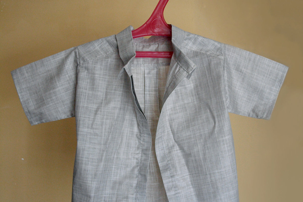 Рубаха из льна своими руками
