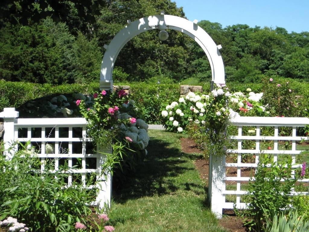 Арки своими руками для сада и огорода