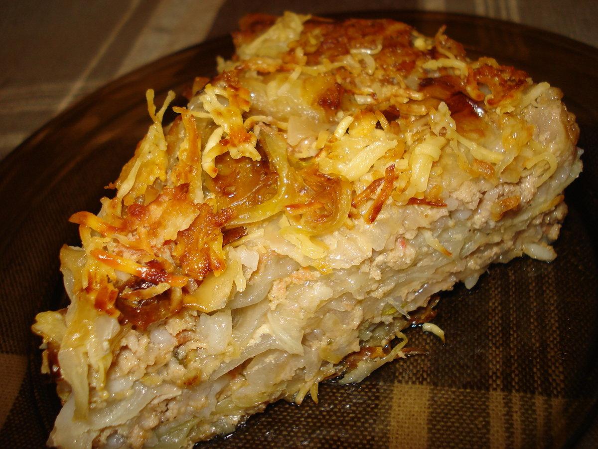 Пирог с мясом на скорую руку рецепт с пошагово
