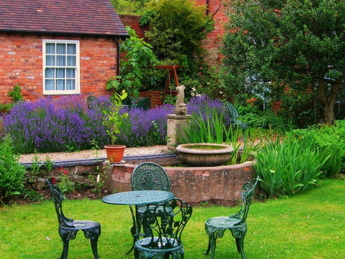 Английский ландшафтный дизайн фото двориков