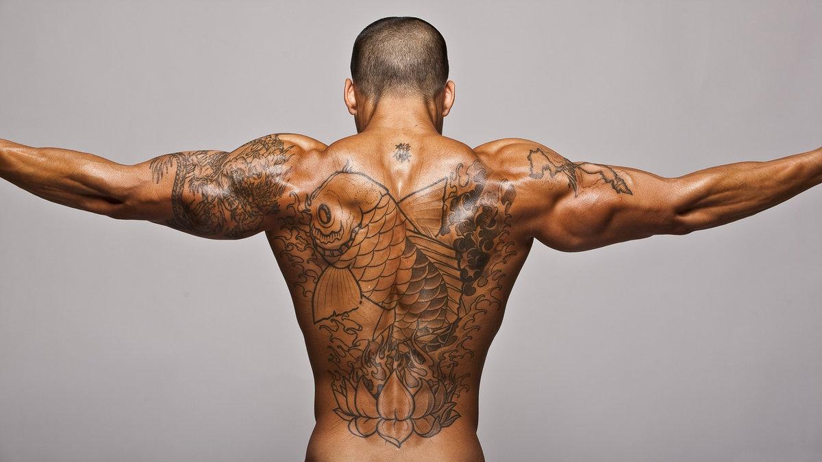 Мужское тело татуировки фото