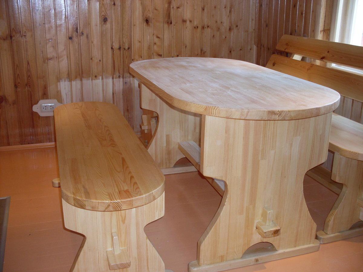 Мебель для бани своими руками из дерева фото чертежи
