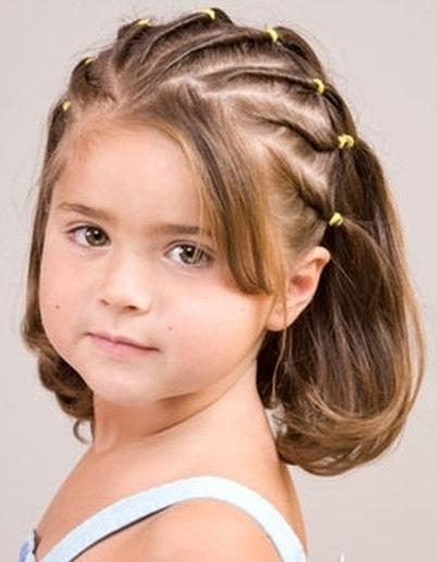 Смотреть прически на короткие волосы для детей