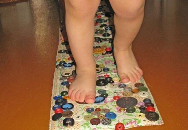 Как сделать коврик своими руками для плоскостопия 851