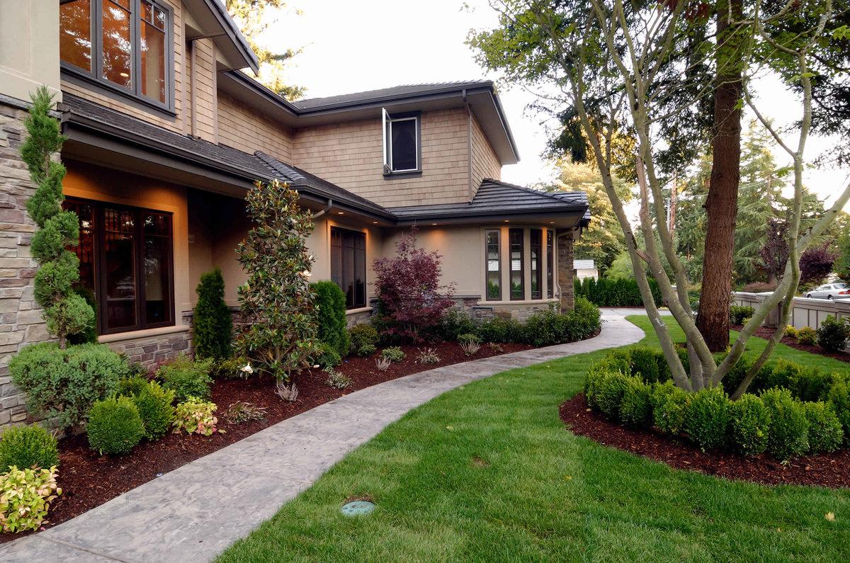 Ландшафты и дизайны домов фото