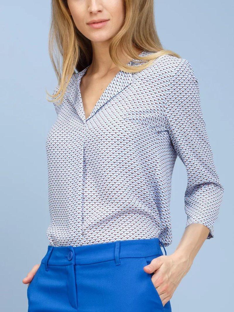 Модели блузки стильные