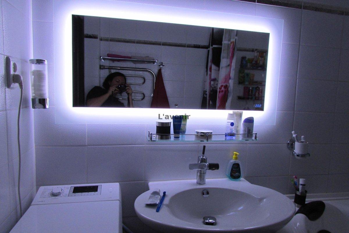 Зеркало с подсветкой для ванной: как выбрать