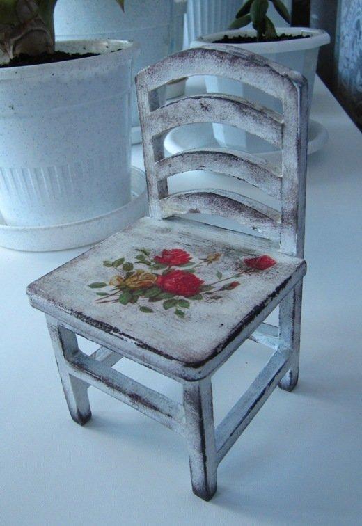 Декупаж для начинающих стул