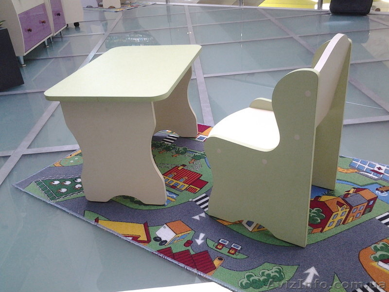 Детский столик из фанеры своими руками 973