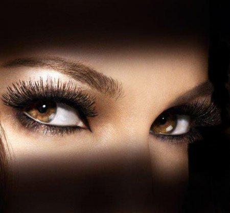 Карие глаза женские на аву