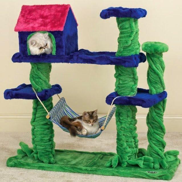 Фото игрушки для котят своими руками