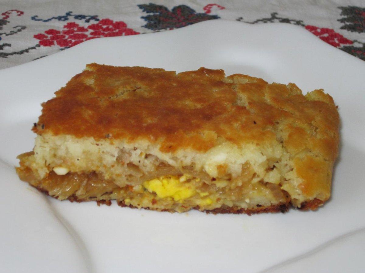 Пирог с капустой на сметане в духовке рецепт пошагово в