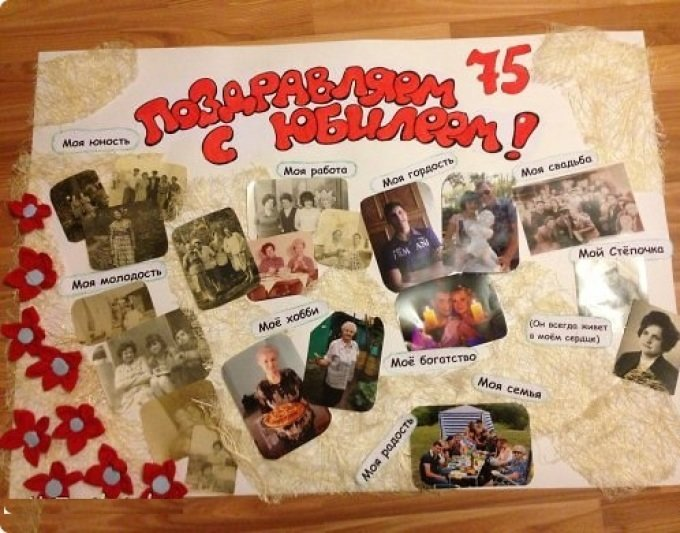 Плакаты бабушке на день рождения