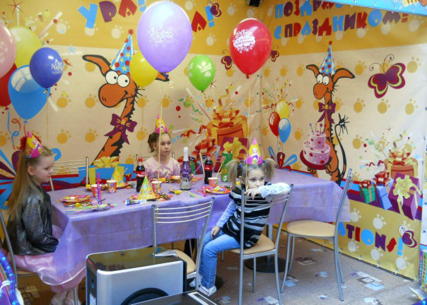 День рождения детей дизайн фото