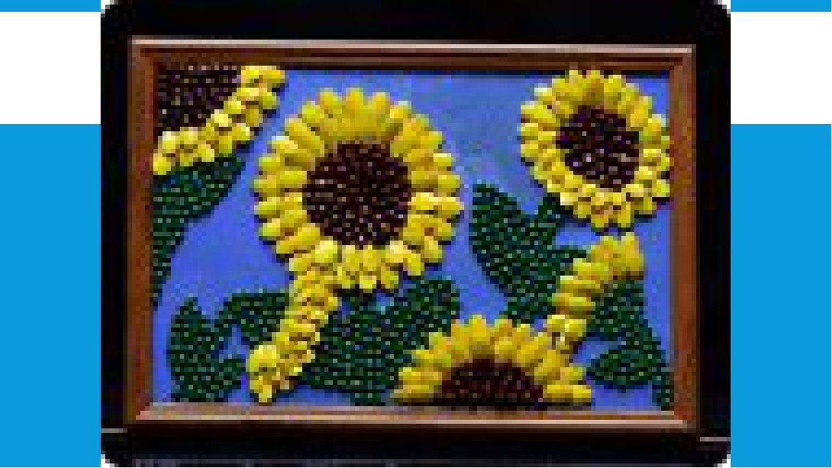 Поделки из семечек своими руками для детей в детский сад 78