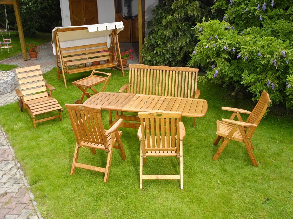 Садовая мебель своим и руками 441