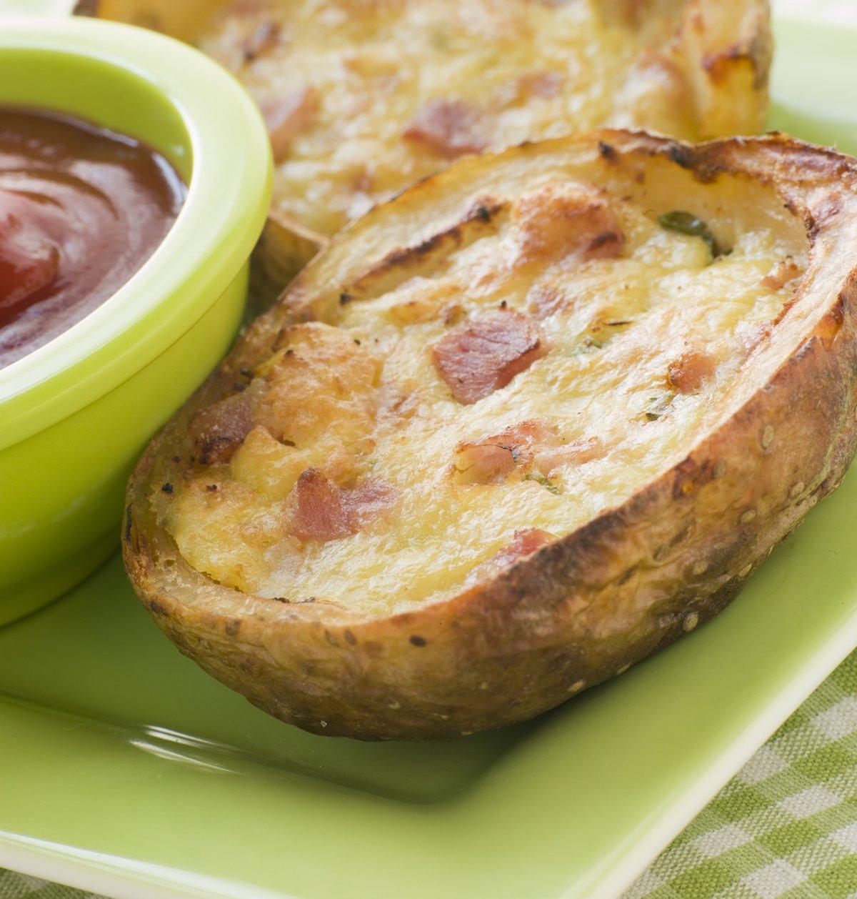 Пошаговый рецепт с фаршированного картофеля