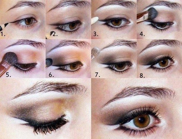 Как сделать себе макияж в домашних условиях 663