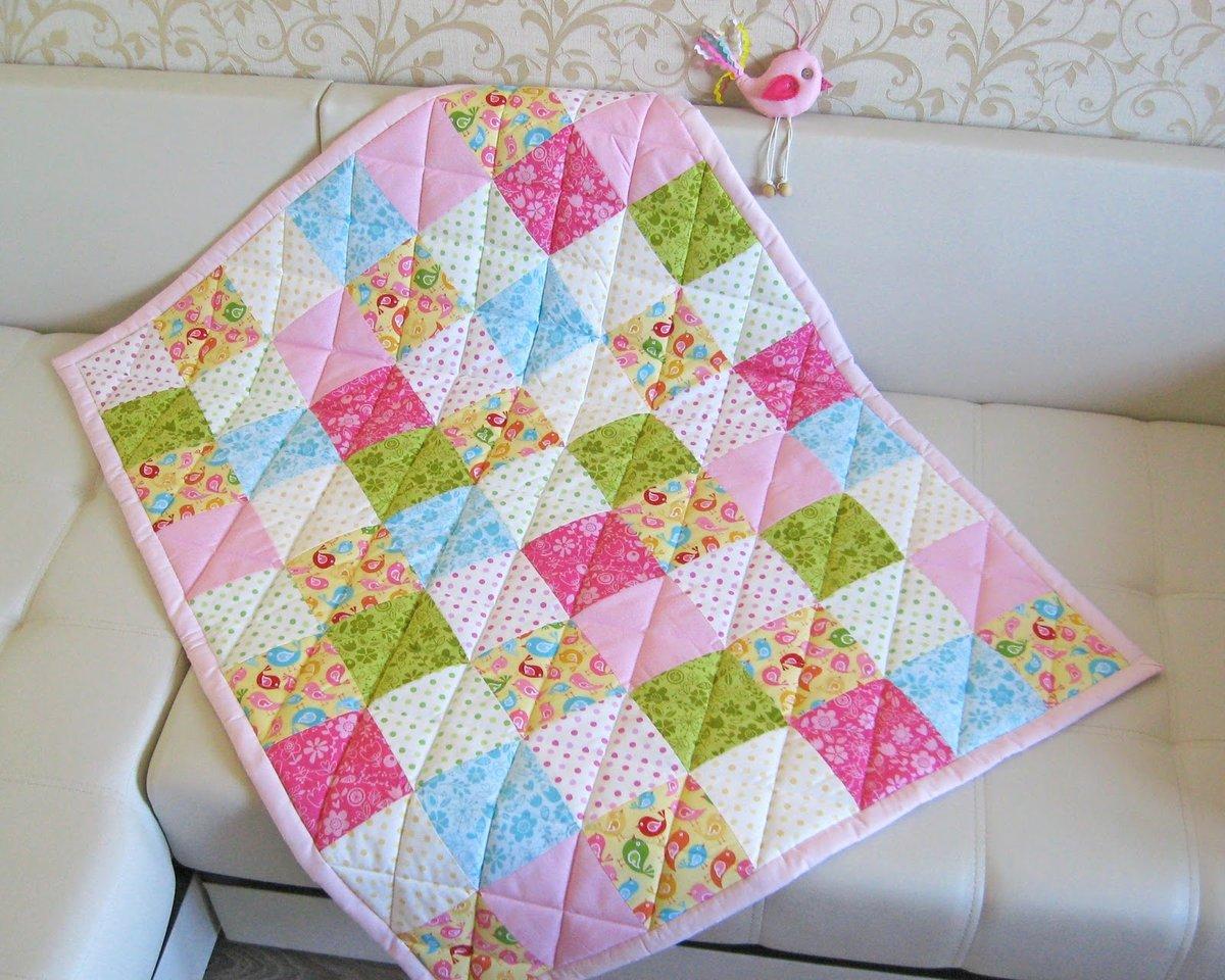 Сшить простое лоскутное одеяло своими руками