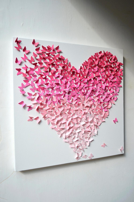 Картина из сердечек своими руками ServiceYard-уют вашего 39