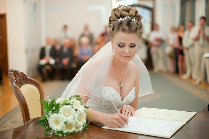 Свадебные прически на свадьбу фото