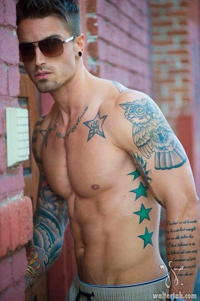 Самая популярная тату у мужчин