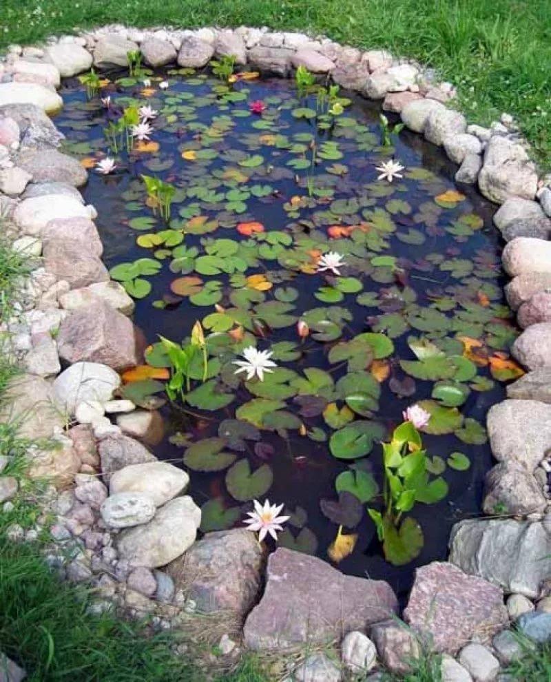 Садовый пруда своими руками