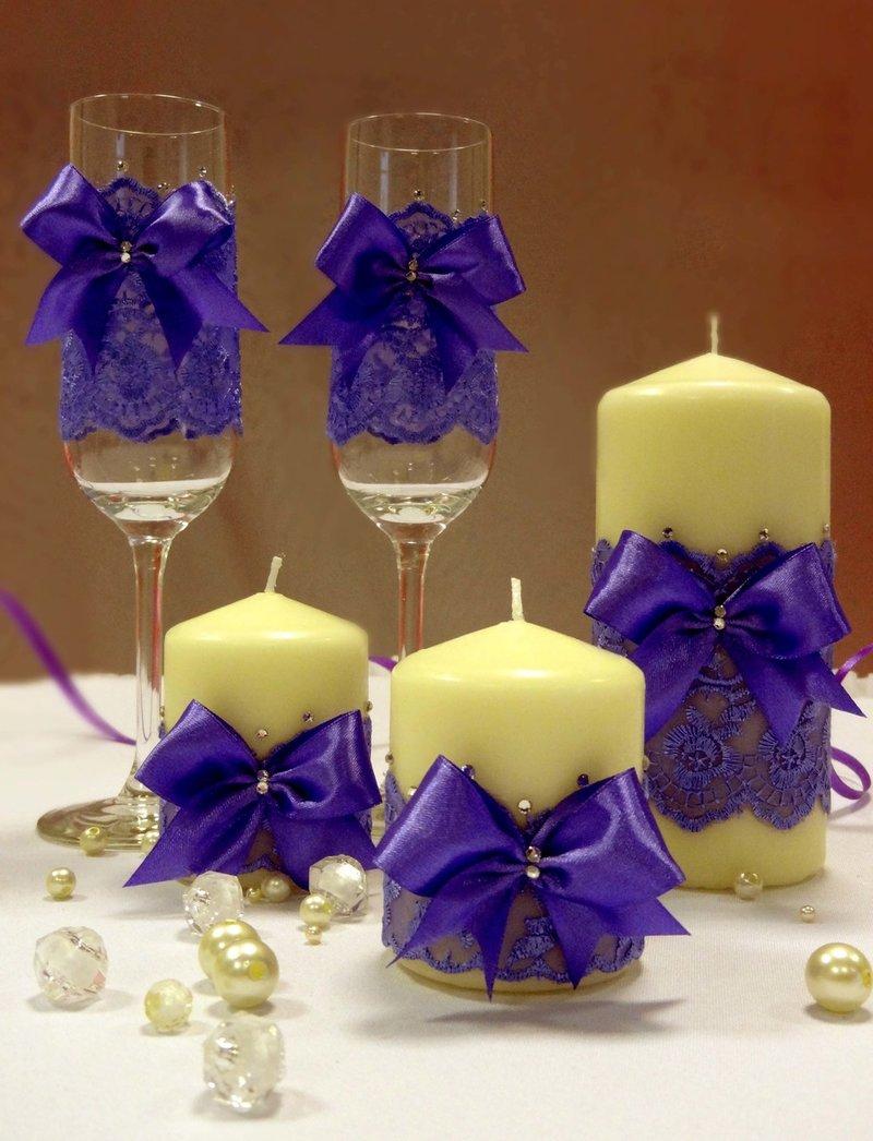 Как сделать свечу для свадьбы