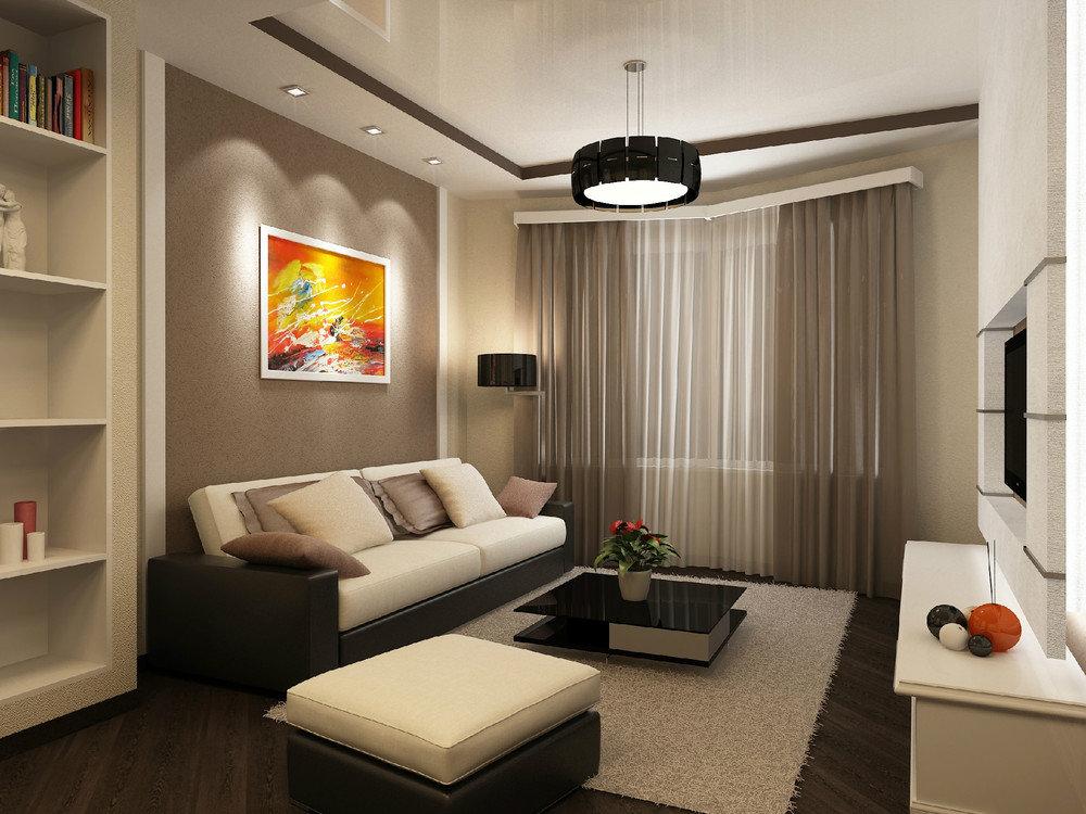 Красивый дизайн для небольшой квартиры