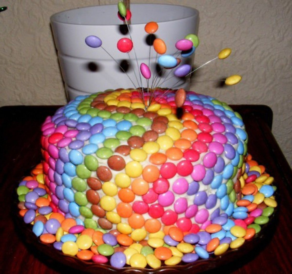 Испечь торт дома на день рождения ребенка своими руками 513
