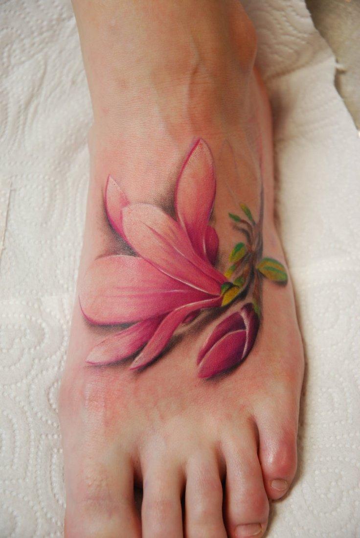 Татуировки на ступне, фото тату на стопе 76