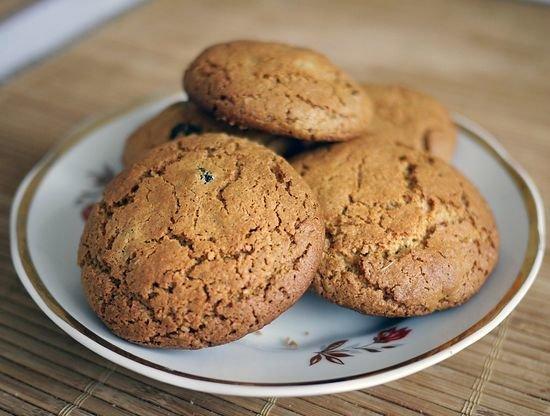 Диетическое печенье из овсяных хлопьев рецепт с пошагово